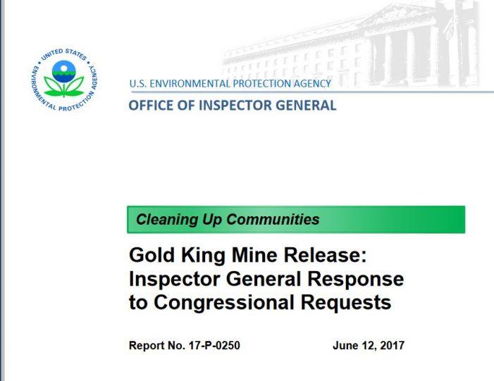 Recalling EPA's Gold King Mine Disaster – Part 1