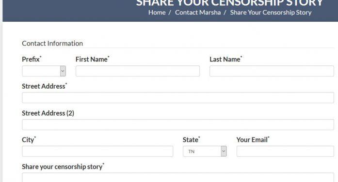 "U.S. Senator Seeking ""Censorship Stories"""