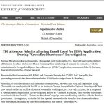 U.S. Attorney John Durham's Office Responds to The Post & Email's Inquiry