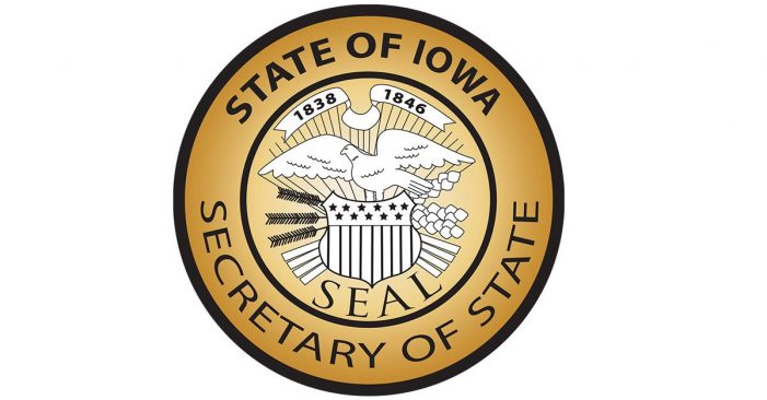 MEDIA ADVISORY: Secretary of State Paul Pate, Iowa HSEMD, Iowa DPS, FBI to conduct media availability Thursday at 10 a.m. in Johnston