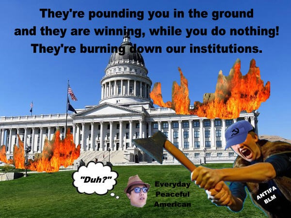 While Good Americans Dither, Rioters Are Taking Over