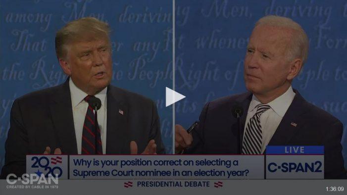 Debate Post-Mortem: Biden's Two-Bit Trump Imitation